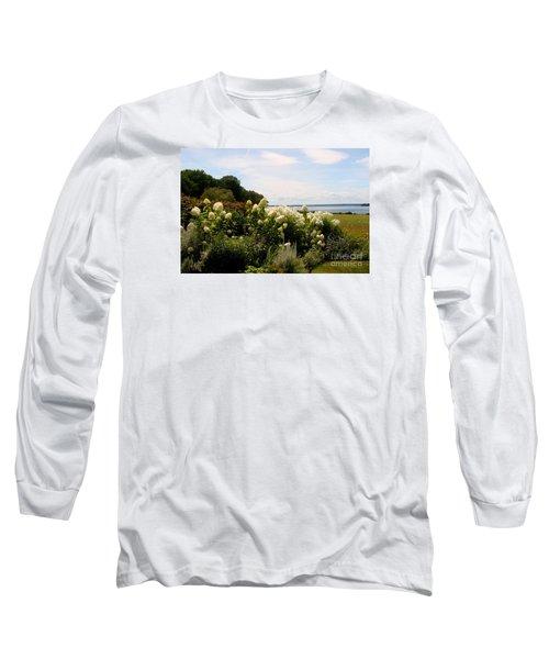Bay View Bristol Rhode Island Long Sleeve T-Shirt by Tom Prendergast