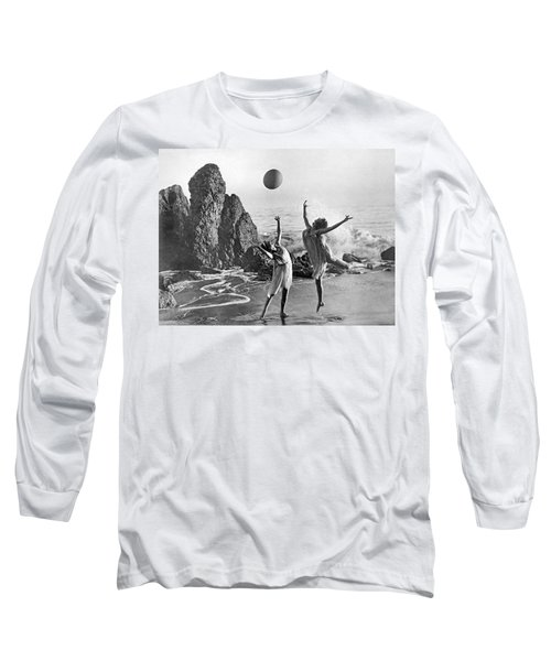 Beach Ball Dancing Long Sleeve T-Shirt