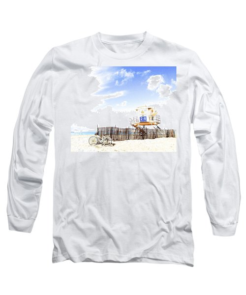 Beach Cruiser Long Sleeve T-Shirt