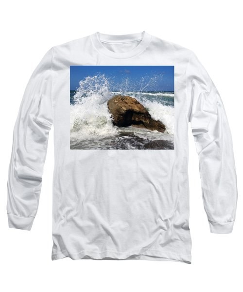 Beach Greece Long Sleeve T-Shirt