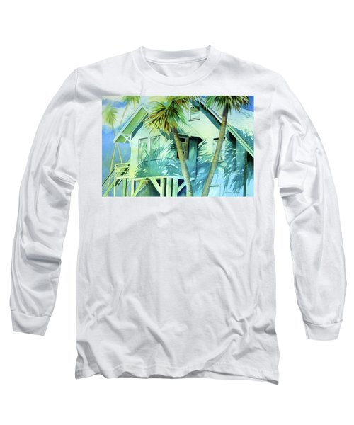 Beach Cottage Long Sleeve T-Shirt