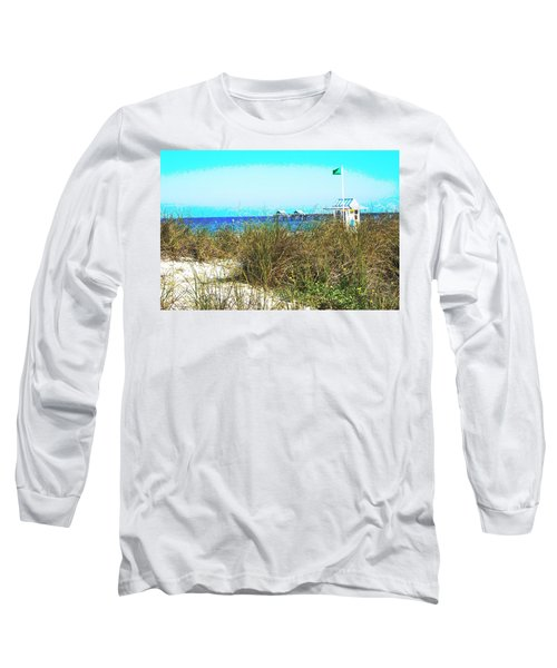 Beach Serenity Long Sleeve T-Shirt