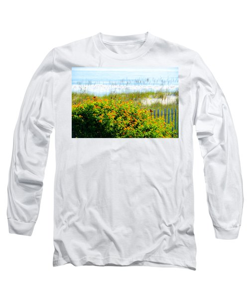 Beachy Butterflies  Long Sleeve T-Shirt