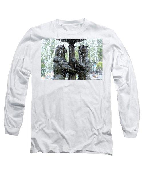 Bear Fountain Long Sleeve T-Shirt