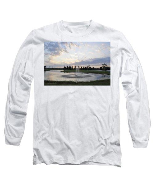 Beautiful Day Long Sleeve T-Shirt by Verana Stark