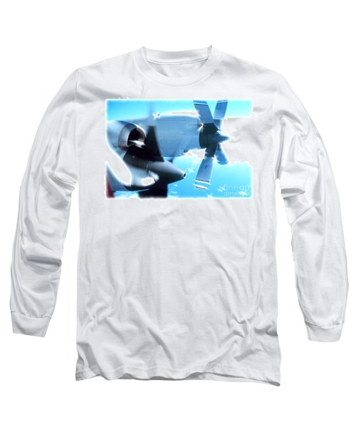 Long Sleeve T-Shirt featuring the photograph Beautiful Fixed Wing Aircraft by R Muirhead Art