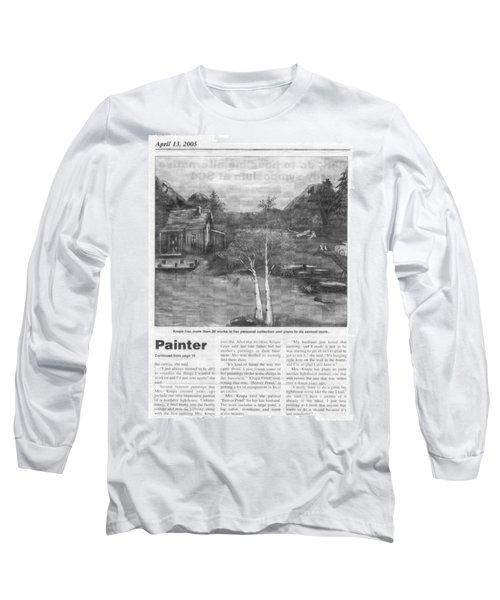 Beaver Pond - Article - Mary Krupa Long Sleeve T-Shirt