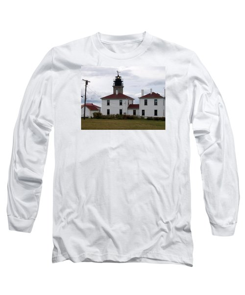 Beavertail Lighthouse Long Sleeve T-Shirt by Catherine Gagne