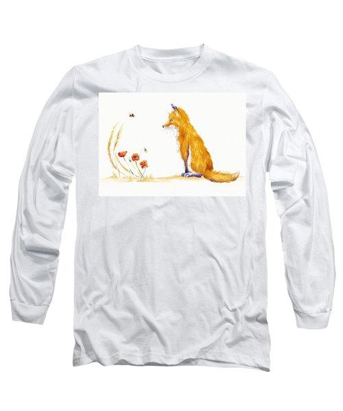 Bee A Summer Fox Long Sleeve T-Shirt