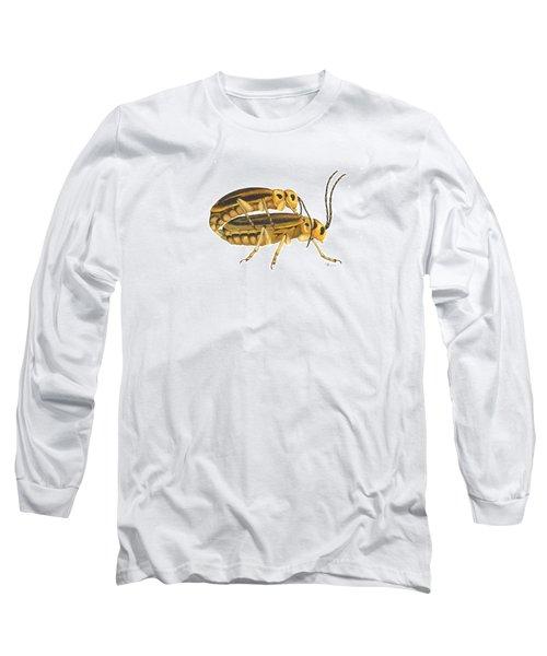 Chrysomelid Beetle Mating Pose Long Sleeve T-Shirt