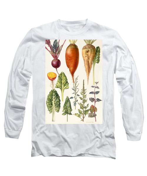 Beetroot And Other Vegetables Wc Long Sleeve T-Shirt