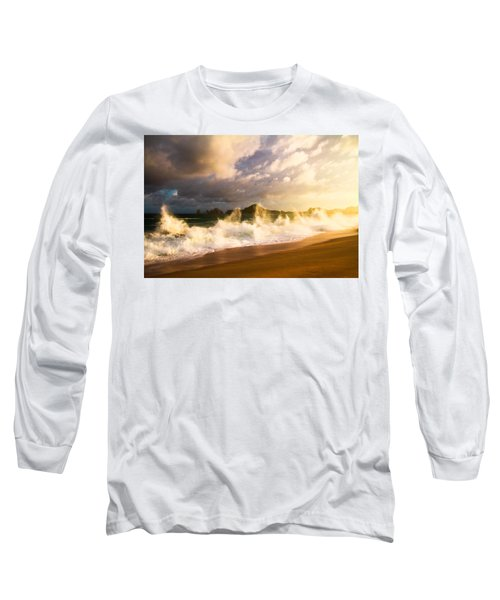 Long Sleeve T-Shirt featuring the photograph Before The Storm by Eti Reid