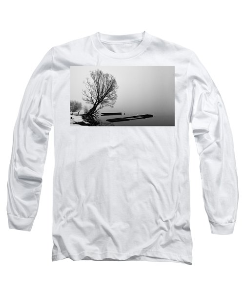Beginning Of The End Long Sleeve T-Shirt by Davorin Mance
