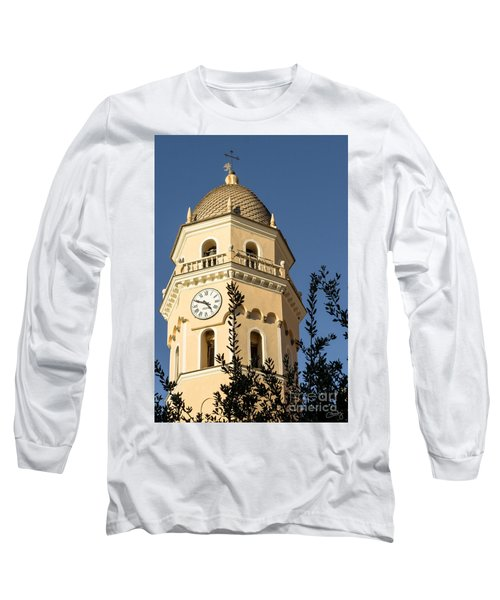 Bell Tower Of Vernazza Long Sleeve T-Shirt