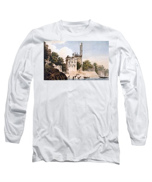 Benares On The Ganges Long Sleeve T-Shirt