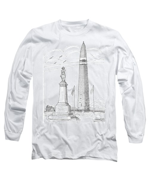 Bennington Battle Monuments Long Sleeve T-Shirt