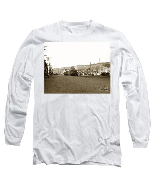 Berkeley California Train Station Circa 1902 Long Sleeve T-Shirt