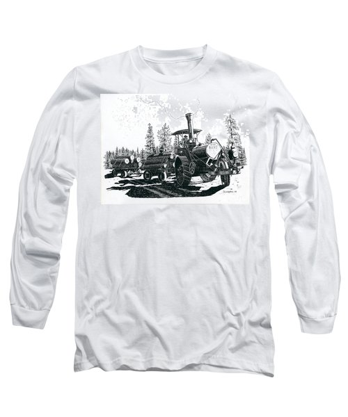 Best Steam Traction Engine Long Sleeve T-Shirt