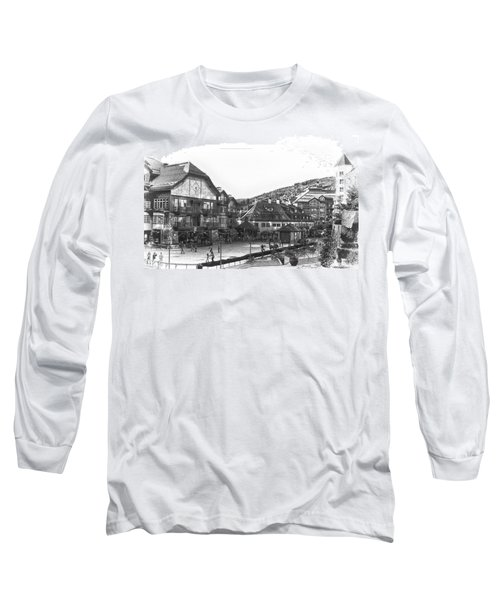 Bever Creek Skating Rink Long Sleeve T-Shirt