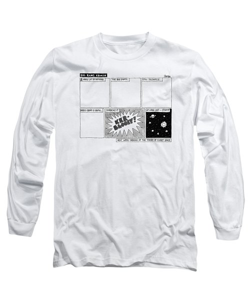 Big Bang Comix Long Sleeve T-Shirt