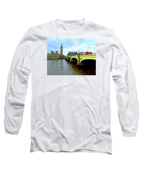 Big Ben And River Thames Long Sleeve T-Shirt