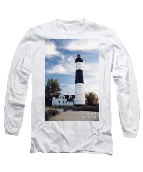 Big Sable Lighthouse Long Sleeve T-Shirt