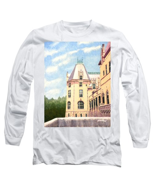 Biltmore Balcony Long Sleeve T-Shirt by Stacy C Bottoms