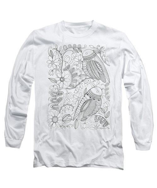 Bird Birds 1 Long Sleeve T-Shirt