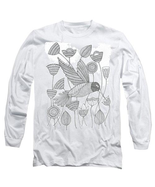 Bird Hummingbird 2 Long Sleeve T-Shirt
