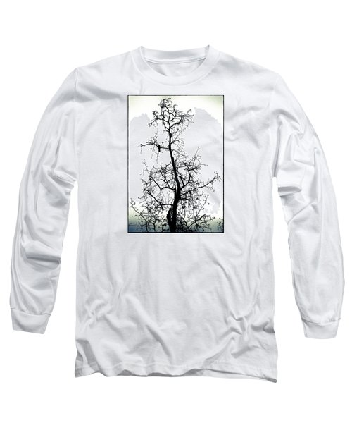 Long Sleeve T-Shirt featuring the photograph Bird In The Branches by Caitlyn  Grasso