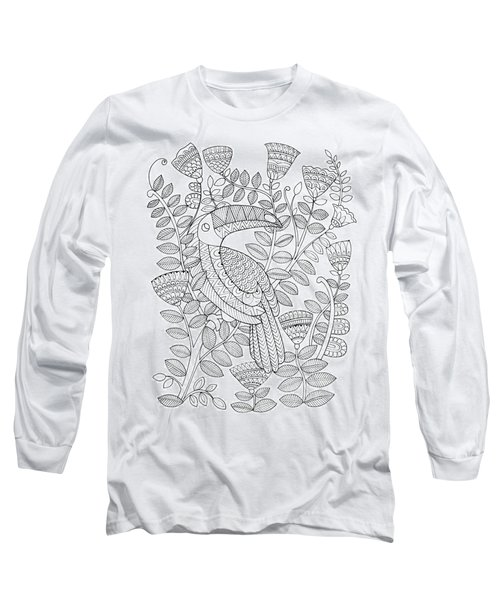 Bird Kakatua 1 Long Sleeve T-Shirt