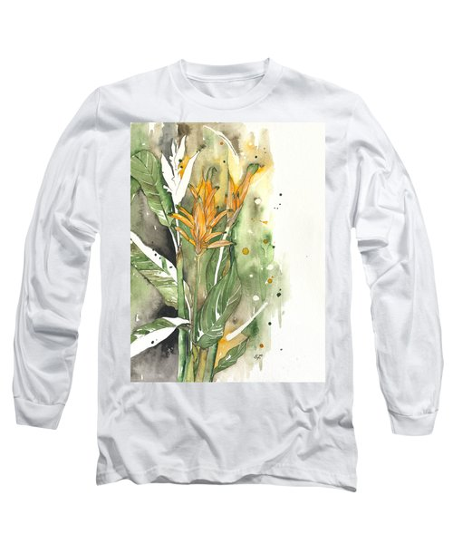 Bird Of Paradise 08 Elena Yakubovich  Long Sleeve T-Shirt