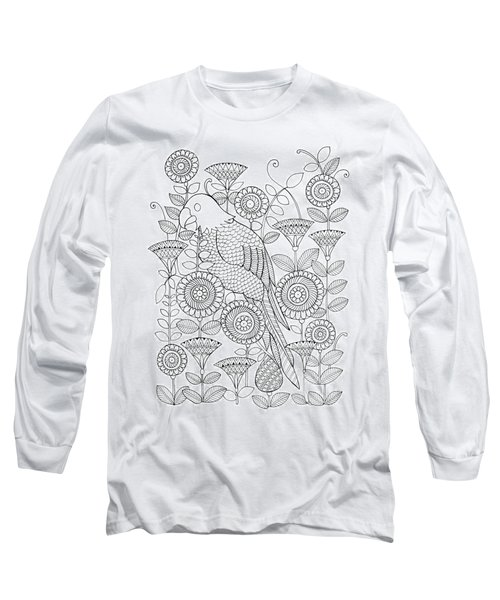 Bird Parrot Long Sleeve T-Shirt