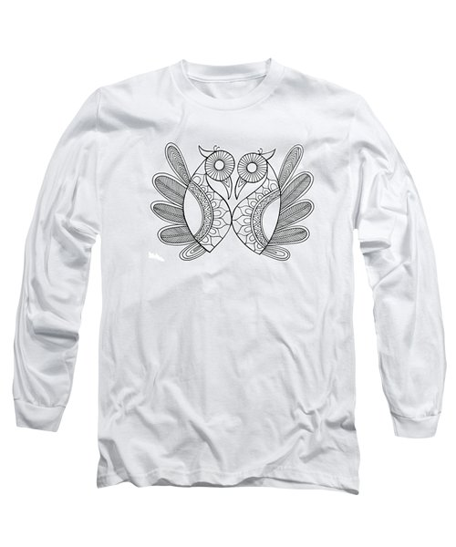 Bird Parrots Long Sleeve T-Shirt