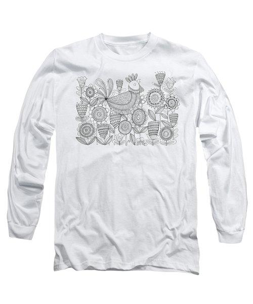 Bird Rooster 6 Long Sleeve T-Shirt