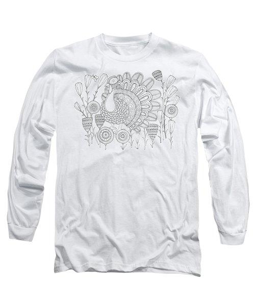 Bird Turkey Bird 1 Long Sleeve T-Shirt