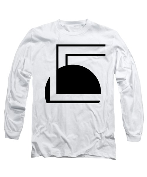 Black And White Art - 127 Long Sleeve T-Shirt by Ely Arsha
