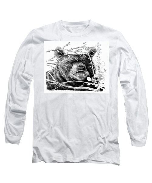 Black Bear Boar Long Sleeve T-Shirt