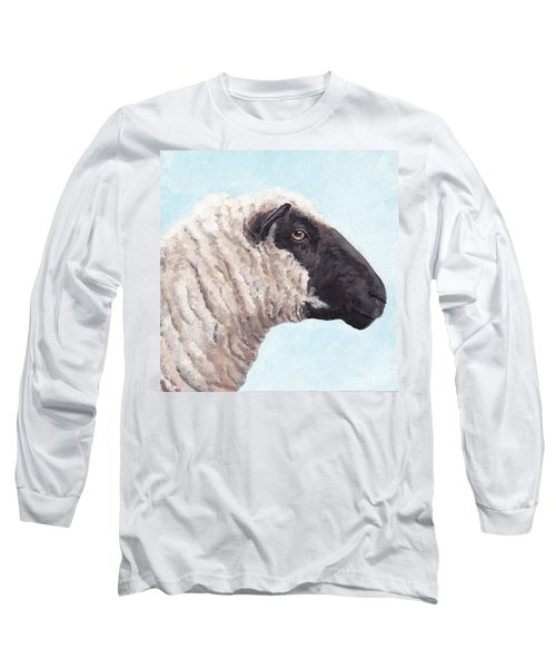 Black Face Sheep Long Sleeve T-Shirt