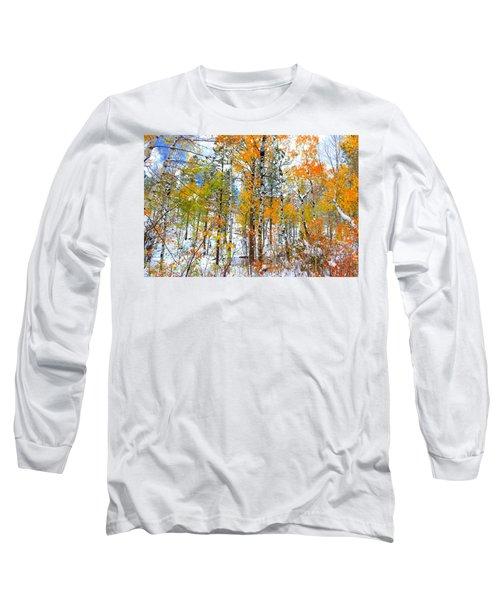 Black Hills Veil  Long Sleeve T-Shirt