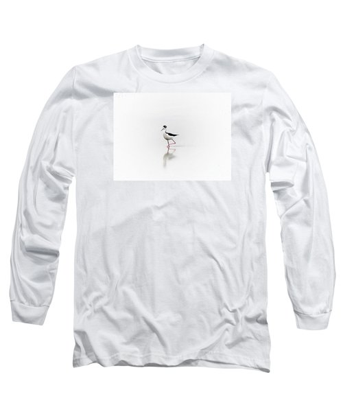 Black Necked Stilt Long Sleeve T-Shirt