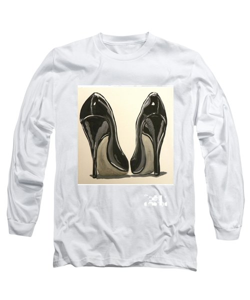 Black Pumps Long Sleeve T-Shirt