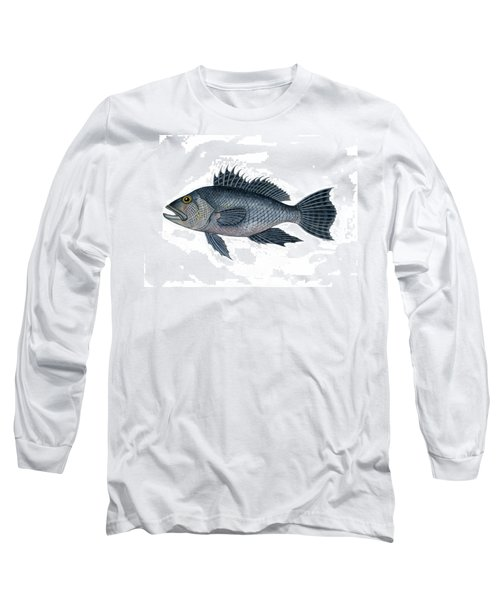 Black Sea Bass 3 Long Sleeve T-Shirt