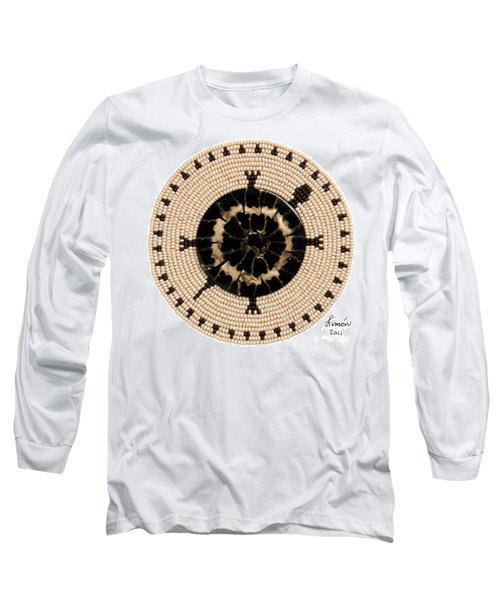 Black Shell Long Sleeve T-Shirt
