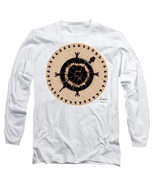Black Shell Long Sleeve T-Shirt