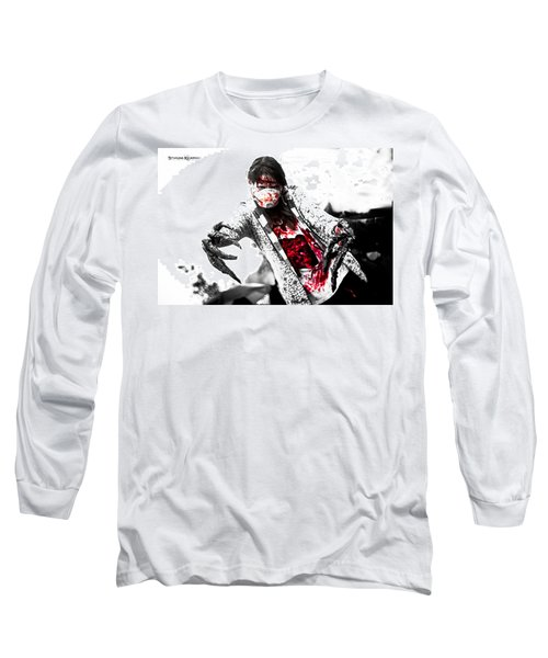 Bloody Death Claws Long Sleeve T-Shirt