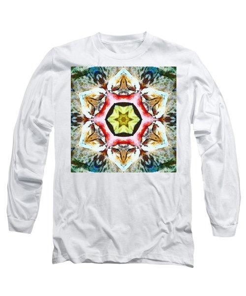 Blooming Fibonacci Long Sleeve T-Shirt