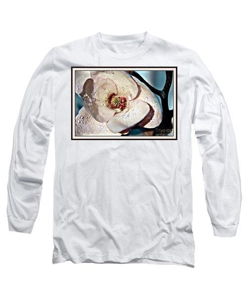 Blooming Magnolia Long Sleeve T-Shirt