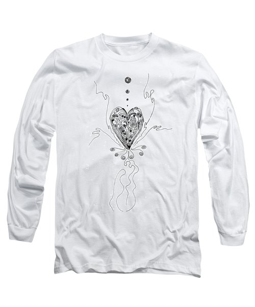 Blossoming Love Long Sleeve T-Shirt