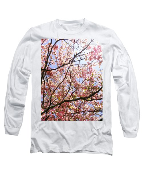 Blossoming Pink Long Sleeve T-Shirt